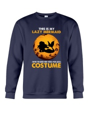Mermaid - This Is My Lazy Costume Crewneck Sweatshirt tile