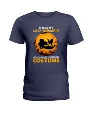 Mermaid - This Is My Lazy Costume Ladies T-Shirt tile