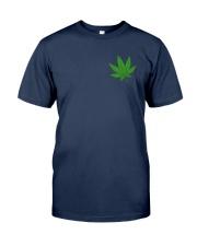 Flag Cannabis 2 Sides Classic T-Shirt tile