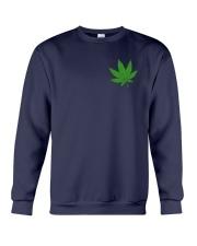 Flag Cannabis 2 Sides Crewneck Sweatshirt tile