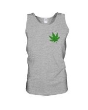 Flag Cannabis 2 Sides Unisex Tank tile
