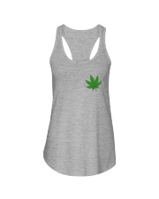 Flag Cannabis 2 Sides Ladies Flowy Tank tile