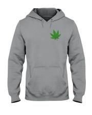 Flag Cannabis 2 Sides Hooded Sweatshirt tile