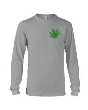 Flag Cannabis 2 Sides Long Sleeve Tee tile