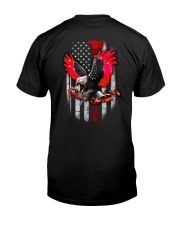 Red Eagle Rose 2 Sides Classic T-Shirt back
