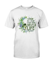 Sk - Gardening - Save A Life Classic T-Shirt front