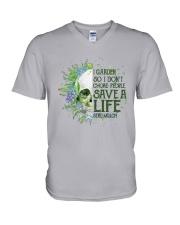 Sk - Gardening - Save A Life V-Neck T-Shirt thumbnail