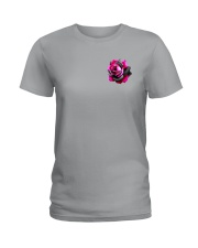 Ballet Rose 2 Sides Ladies T-Shirt thumbnail