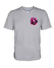 Ballet Rose 2 Sides V-Neck T-Shirt thumbnail