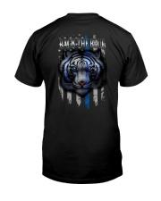 Tiger Back The Blue 2 Sides Classic T-Shirt back