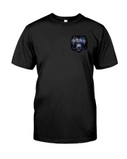 Tiger Back The Blue 2 Sides Classic T-Shirt front