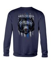 Tiger Back The Blue 2 Sides Crewneck Sweatshirt tile