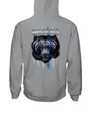 Tiger Back The Blue 2 Sides Hooded Sweatshirt tile