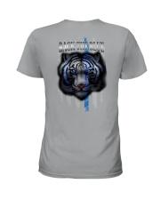 Tiger Back The Blue 2 Sides Ladies T-Shirt tile