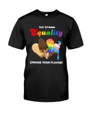 LGBT- Ice Cream Classic T-Shirt front