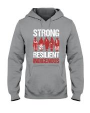 Native- Strong Resilient IndigenousV2 Hooded Sweatshirt tile