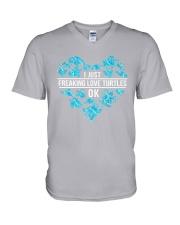 Turtle Love V-Neck T-Shirt thumbnail