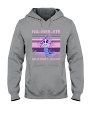 Mermaid - Yoga - Namerste Hooded Sweatshirt tile