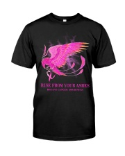 Breast Cancer Raise Classic T-Shirt front