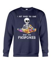 Skull Shut The Fucupcakes Crewneck Sweatshirt thumbnail