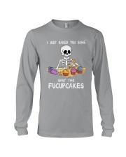 Skull Shut The Fucupcakes Long Sleeve Tee thumbnail