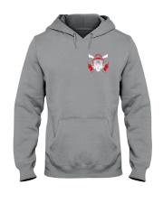 Firefighter Husband Father Hero 2 Sides Hooded Sweatshirt tile