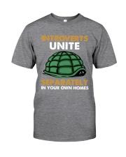 Turtle - Introvert Unite Classic T-Shirt tile