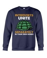 Turtle - Introvert Unite Crewneck Sweatshirt tile