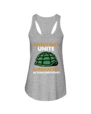 Turtle - Introvert Unite Ladies Flowy Tank tile