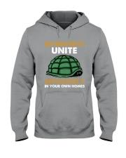 Turtle - Introvert Unite Hooded Sweatshirt tile