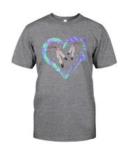 Native Heart Purple Classic T-Shirt tile