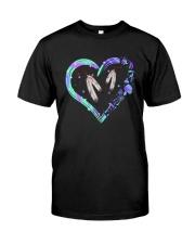 Native Heart Purple Classic T-Shirt front