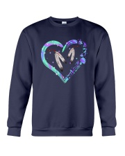 Native Heart Purple Crewneck Sweatshirt thumbnail