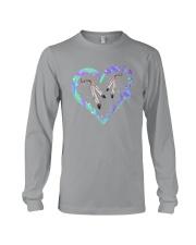 Native Heart Purple Long Sleeve Tee thumbnail