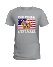 Dog - Make America Great Again Ladies T-Shirt thumbnail