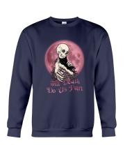 Skull Till Death Do Us Part Crewneck Sweatshirt thumbnail
