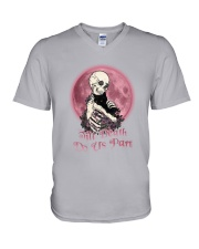Skull Till Death Do Us Part V-Neck T-Shirt thumbnail
