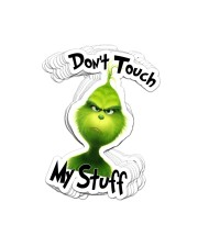 Dont Touch My Stuff Sticker - 10 pack (Vertical) front