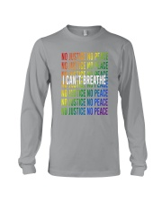 LGBT - No Justice No Peace Long Sleeve Tee thumbnail