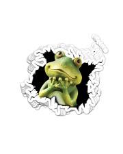 Frog Crack Sticker - 10 pack (Vertical) front