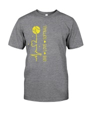 Live Love Softball Classic T-Shirt tile