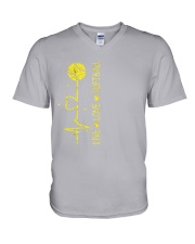 Live Love Softball V-Neck T-Shirt thumbnail