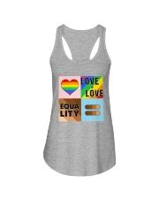 LGBT - Love Is Love - Equality Ladies Flowy Tank thumbnail