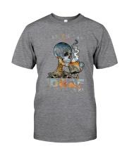 Skull IDGAF If You Like Me Classic T-Shirt tile