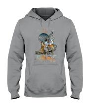 Skull IDGAF If You Like Me Hooded Sweatshirt tile