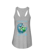 Turtle Let It Be Ladies Flowy Tank thumbnail