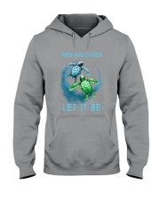 Turtle Let It Be Hooded Sweatshirt thumbnail
