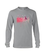 Breast Cancer Pink Long Sleeve Tee thumbnail