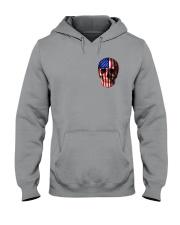 SKull Camo Flag 2 Sides Hooded Sweatshirt thumbnail