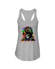 LGBT Skull Love Is A Battlefield Ladies Flowy Tank thumbnail